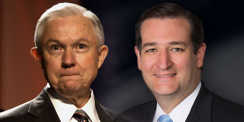 CRUZ, SESSIONS DEMAND IMMIGRATION INFO AFTER SAN BERNARDINO
