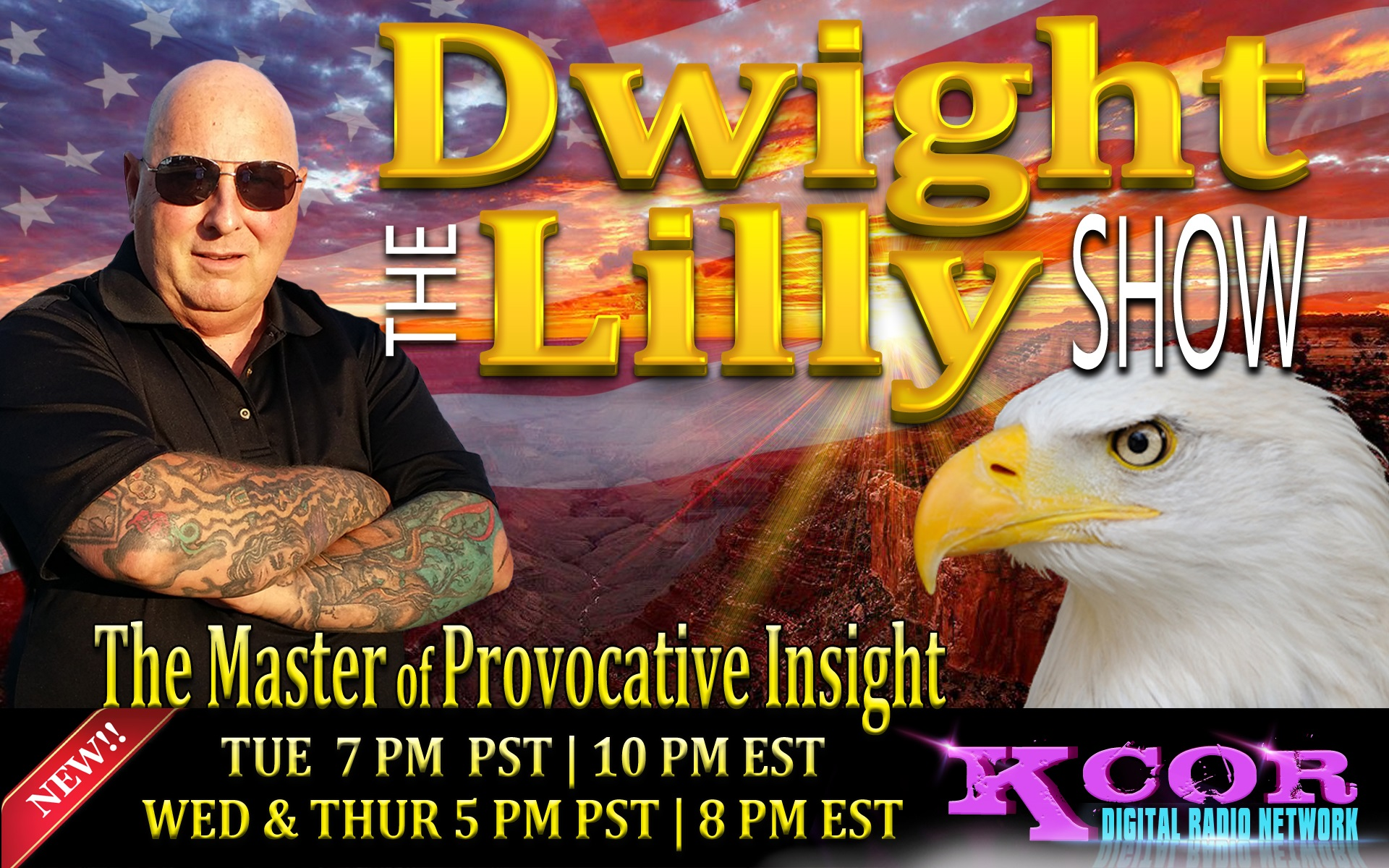 LIFA WITH DWIGHT LILLY THIS WEDNESDAY NIGHT