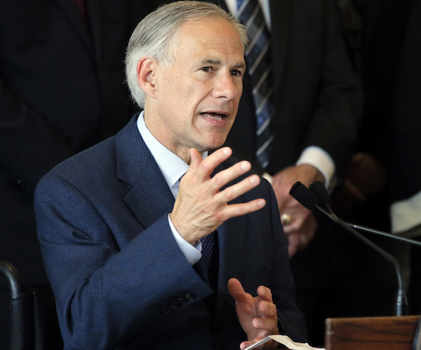 TEXAS GOVERNOR VOWS TO BAN SANCTUARY CITIES
