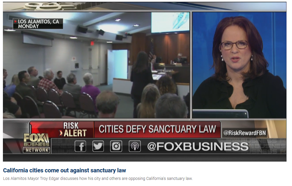More California cities looking to reject state's sanctuary law