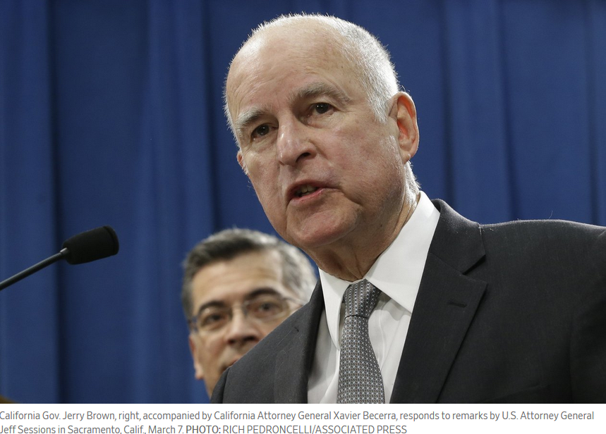 When Jerry Brown Tried to Keep Immigrants Out of California