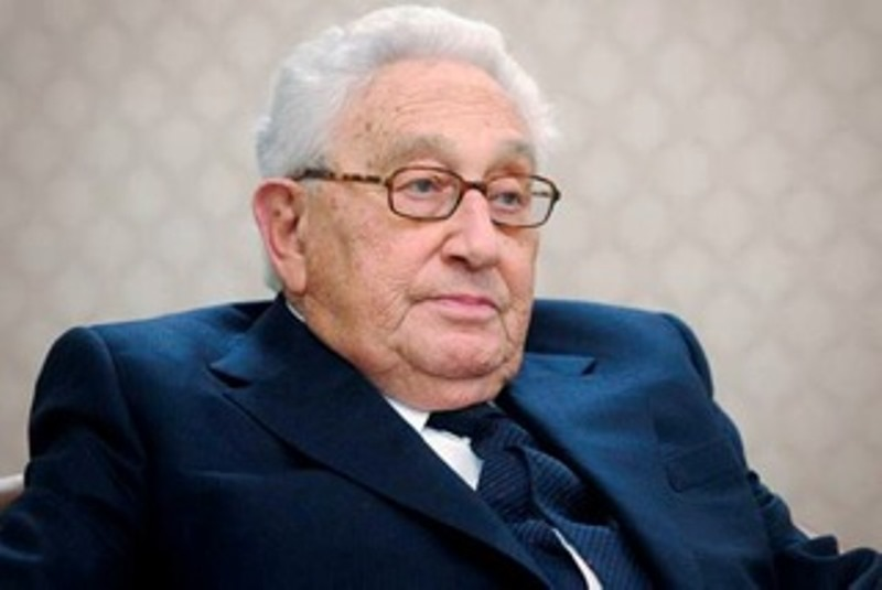 Henry Kissinger is an elder statesman and former secretary of state that most millennial's would not even know.  He has a pretty good understanding of what is going on in Washington today.