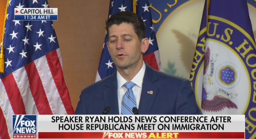 Paul Ryan scrambles to calm GOP insurrection over immigration