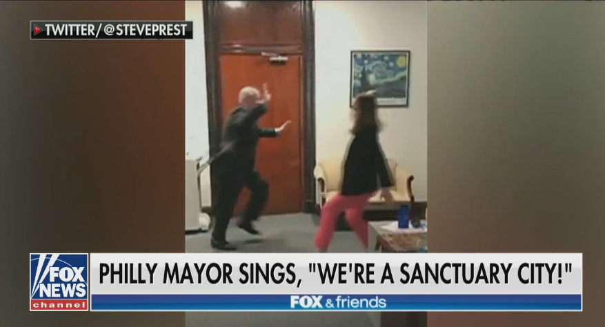 White House slams Philadelphia mayor for 'disgusting' victory dance over sanctuary city ruling