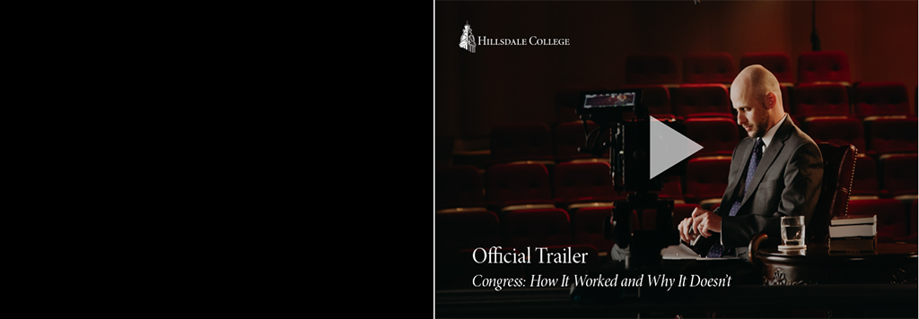 Hillsdale College teaches us about how Congress functions or at least is supposed to