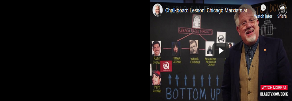 Chalkboard Lesson: Chicago Marxists are Pulling the Strings on the Attack on our Border