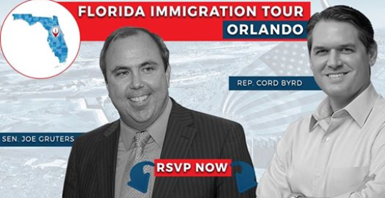 Two great guys who are doing so much for the state of Florida. LIFA highly recommends attending this great event with Joe Gruters and Cord Byrd.