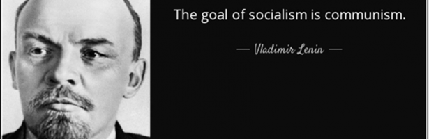 """The goal of socialism is communism."""